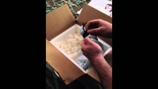 unboxing black throat monitor from darkside serpents