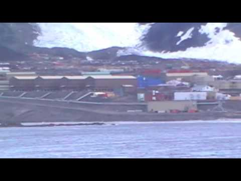 McMurdo Sound Antarctica by boat