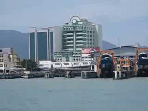 Take heritage transport: ferry from mainland Penang to Georgetown UNESCO World Heritage City site