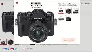 ไม่รู้จะเลือกกล้องอะไร ฟังคลิปนี้ Fuji X-A5 Fuji X-T100 Canon M50 Sony A6300 Sony A6500