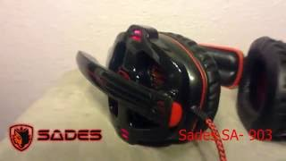Sades SA- 903 Review(With Mic Test)