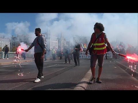 Lyon: Manifestation Code du travail