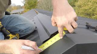 HOW TO INSTALL A VENTED RIDGE CAP