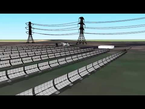 Solar Thermal 1MW Plant Design