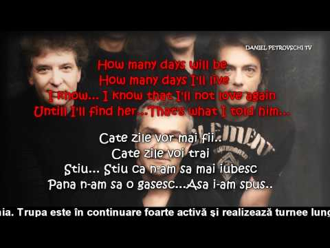 Holograf - Fara ea / Without her (Versuri - Lyrics)