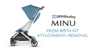 UPPAbaby MINU - From Birth Kit Attachment Removal