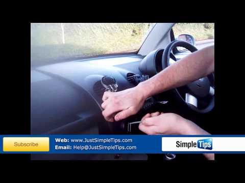 Radio Removal Volkswagen Beetle (1997-2010) | JustAudioTips