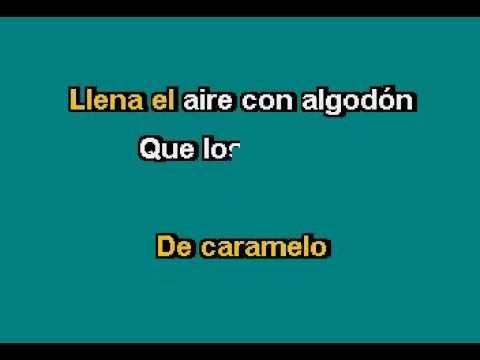 Danna Paola   Mundo De Caramelo Karaoke