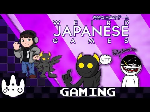 Weird Japanese Games (WiKi Gaming #12)