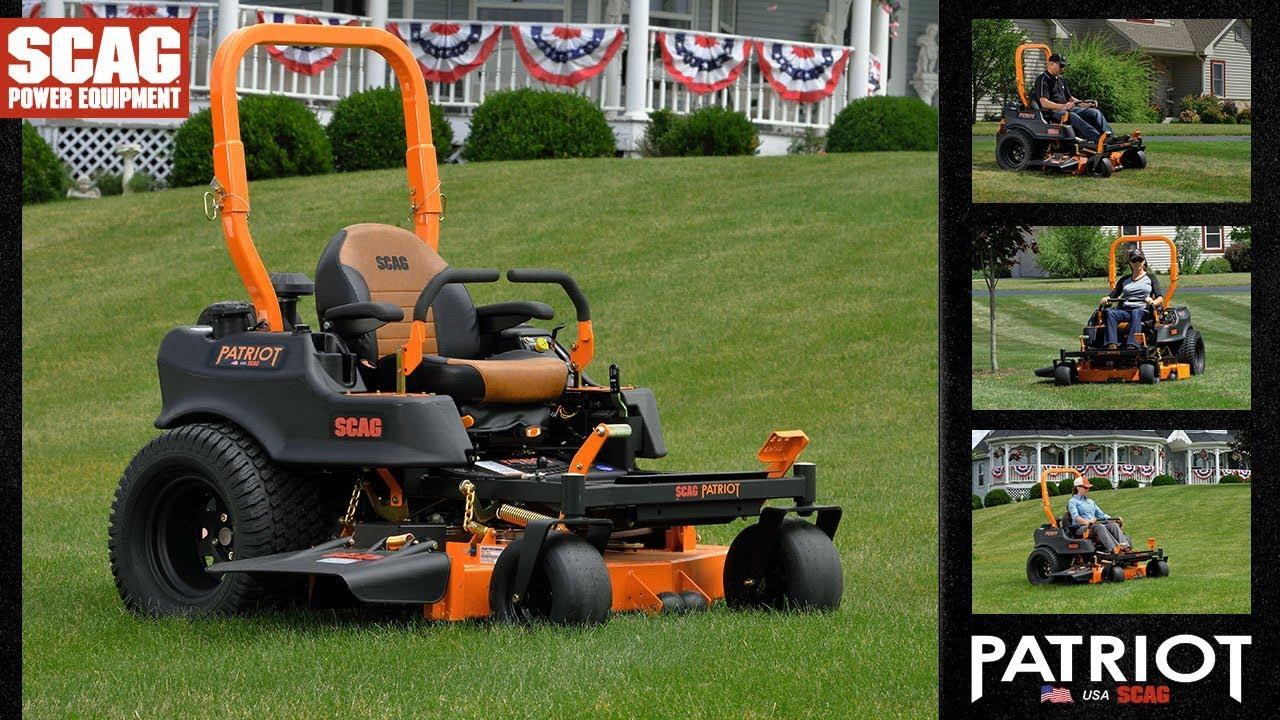 Scag Patriot Zero-Turn Rider - Scag Power Equipment