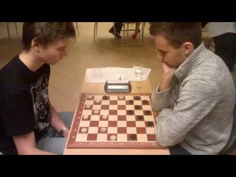 Чемпионат мира по шашкам-2017 года. Рысаев Д. - Норкус Д.