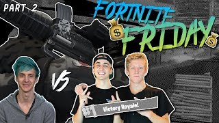 $20,000 Fortnite Tournament FINALS!!! Ninja & KingRichard vs. FaZe Tfue & Cloak | Part 2