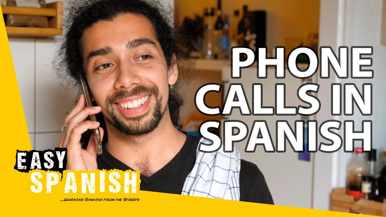 How to Make Phone Calls in Spanish | Super Easy Spanish 36