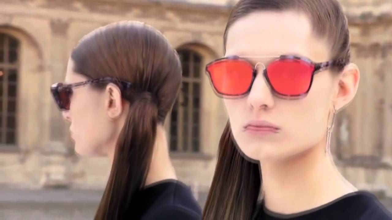 85a11a0e2b34 Dior Abstract Sunglasses - YouTube