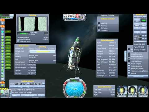 Mining Moons for Kethane In Kerbal Space Program
