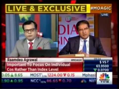 Mr. Raamdeo Agrawal from Day 1 of 13th MOAGIC on CNBC TV18