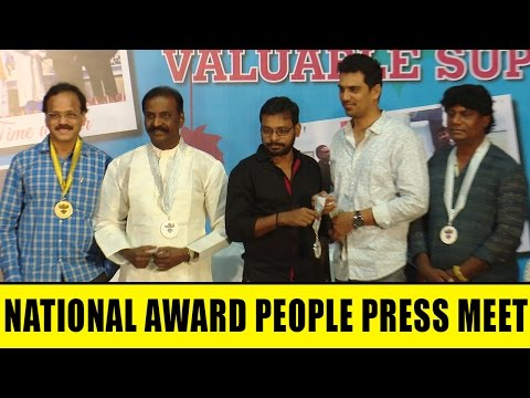 64th National Film Awards Press Meet Full Event   Vairamuthu   Raju Murugan