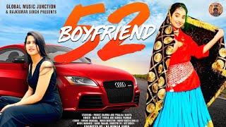 Renuka Panwar - 52 Boyfriend | Ft. Pranjal Dahiya | Latest Haryanvi Song 2021| Haryanavi Song