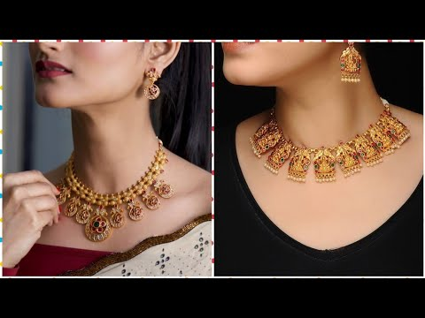 Latest & Trendy Designer Gold Jewellery Designs 2019