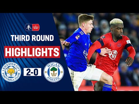 Barnes Seals Foxes Place In Fourth Round   Leicester City 2-0 Wigan Athletic   Emirates FA Cup 19/20 letöltés