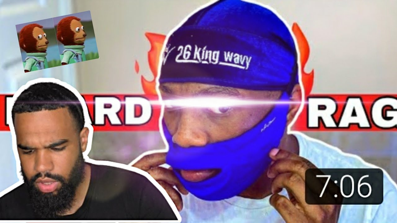 REACTION : DURAG POUR BARBE !!! 👀👀🌊 #waves #beard #barbe #360waves #bearddurag