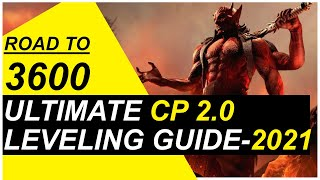 ESO CP Leveling Guide 2021 | ESO How To Get CP Fast | 3 Easy Ways To Get To 3600 CP |