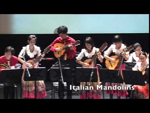 Fiesta Rondalla 2015 - Instruments of the Rondalla