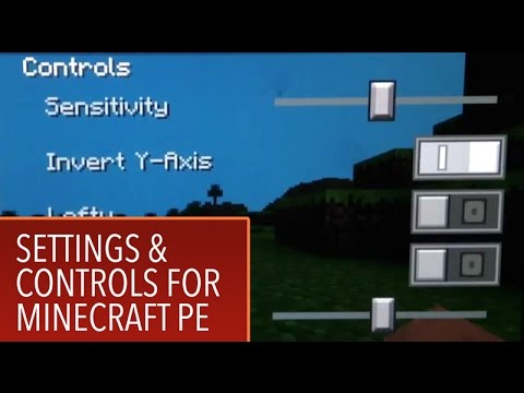 minecraft pe settings and controls for minecraft pe on ipad mpe1