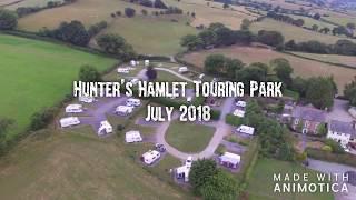 Hunters Hamlet Touring Park Betws-yn-Rhos July 2018