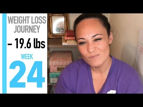 My Weight Loss Journey: WEEK 24 | FINALLY LOSING WEIGHT?
