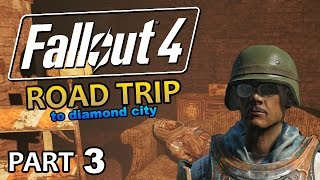 Fallout 4 - Road Trip to Diamond City #3 - Red Tourette