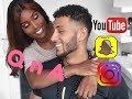 Snapchat QnA ft My boyfriend 3.0