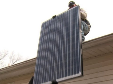 Inside SolarCity The rise of a hot solar panel provider - YouTube