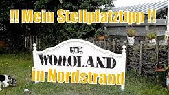 Wohnmobilstellplatz WOMOLAND Nordstrand