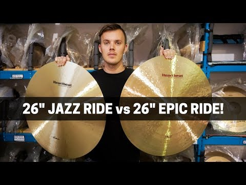 "HEARTBEAT 26"" EPIC Vs 26"" JAZZ RIDE - Head To Head Comparison!"