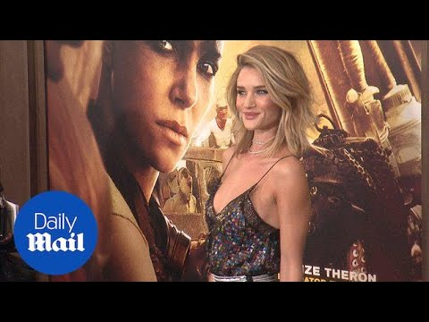 Rosie Huntington-Whiteley Smoulders At Mad Max Premiere - Daily Mail