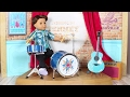 American Girl Doll Drum Playset Review