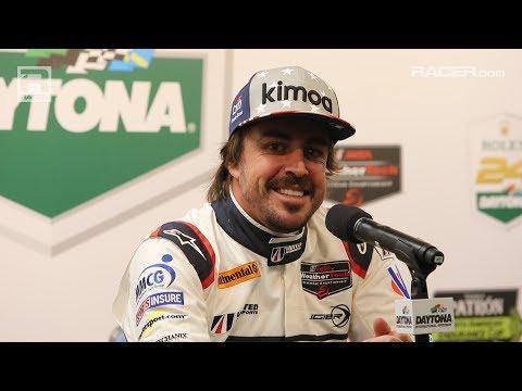 RACER: Fernando Alonso at Daytona