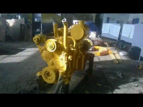 Капитальный ремонт двигателя Шанхай C6121 бульдозера Шантуй SD16