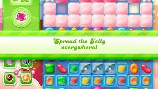 Candy Crush Jelly Saga Level 870 (3 star, No boosters)
