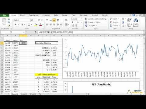How to perform Fourier Analysis in Excel 2013 | Doovi