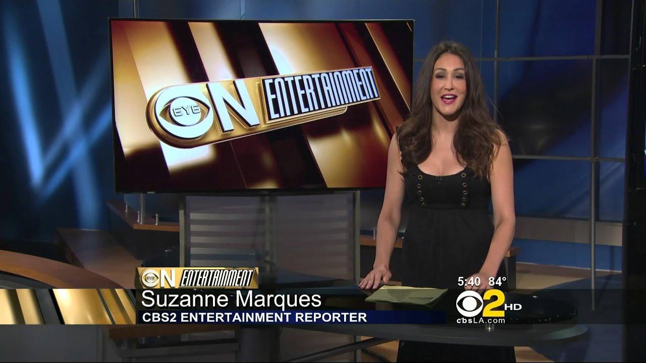 Suzanne Marques 2012/07/11 CBS2/KCAL9 HD; Black dress ...