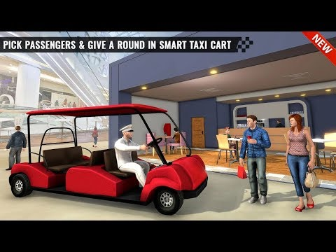Shopping Mall Smart Taxi: Family Car Taxi Games Android Gameplay