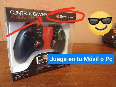 Control Gamer Bluetooth  TZ18BTC01 - Accesorios y Funciones Básicas.
