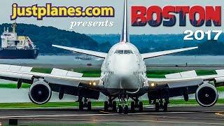 GREAT PLANE SPOTTING : Boston Airport