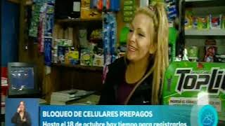 En una semana comenzarán a bloquear millones de celulares en Argentina.