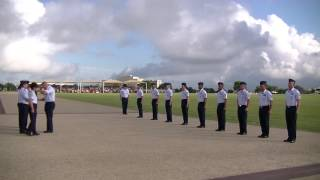 Air Force Basic Military Training Parade 7 Oct 2016