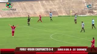 Serie D Girone D Forlì-Vigor Carpaneto 0-0
