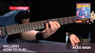 Iron Maiden Guitar Lessons | Learn To Play Volume 2 DVD Licklibrary
