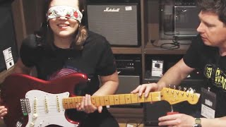 THE STRAT BLINDFOLD CHALLENGE | €169 vs €3800 feat. Mick Taylor
